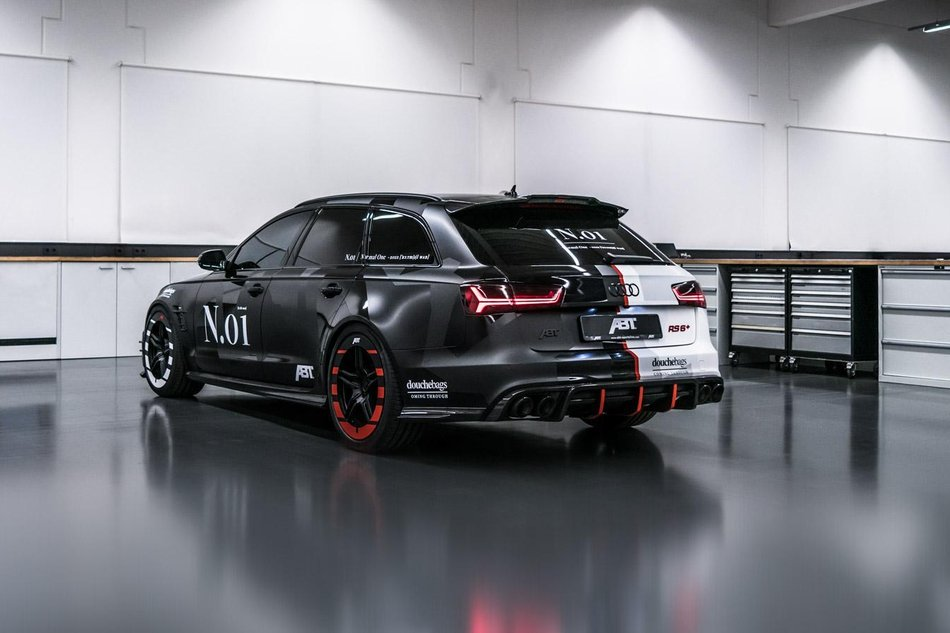 Jon Olsson S Unique Audi Rs6 Build Gerber Motorsport
